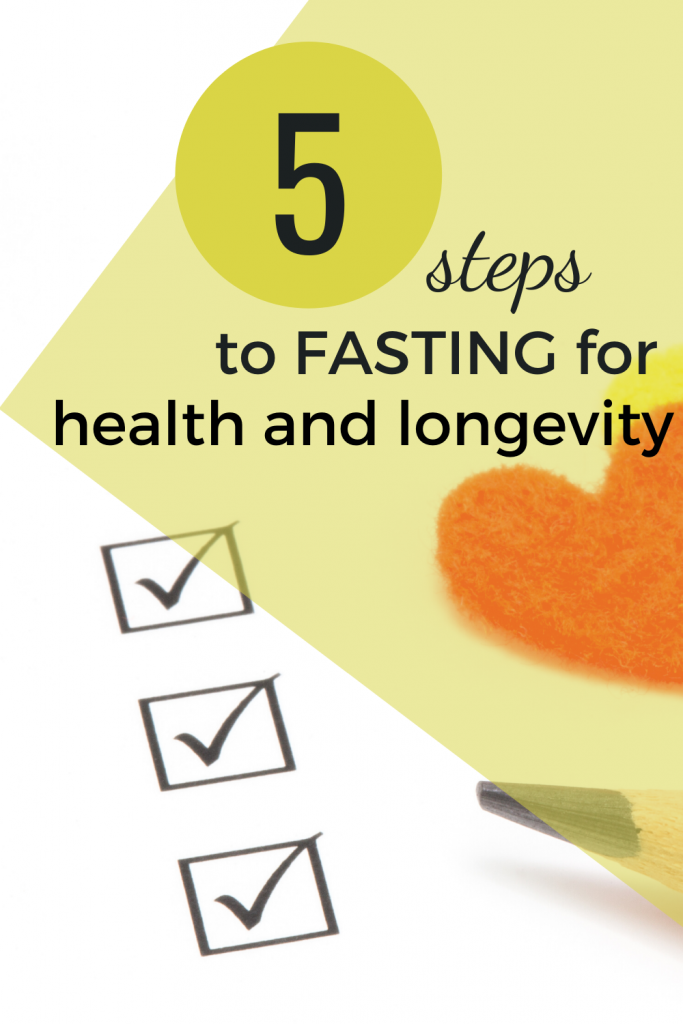 fasting for health and longevity