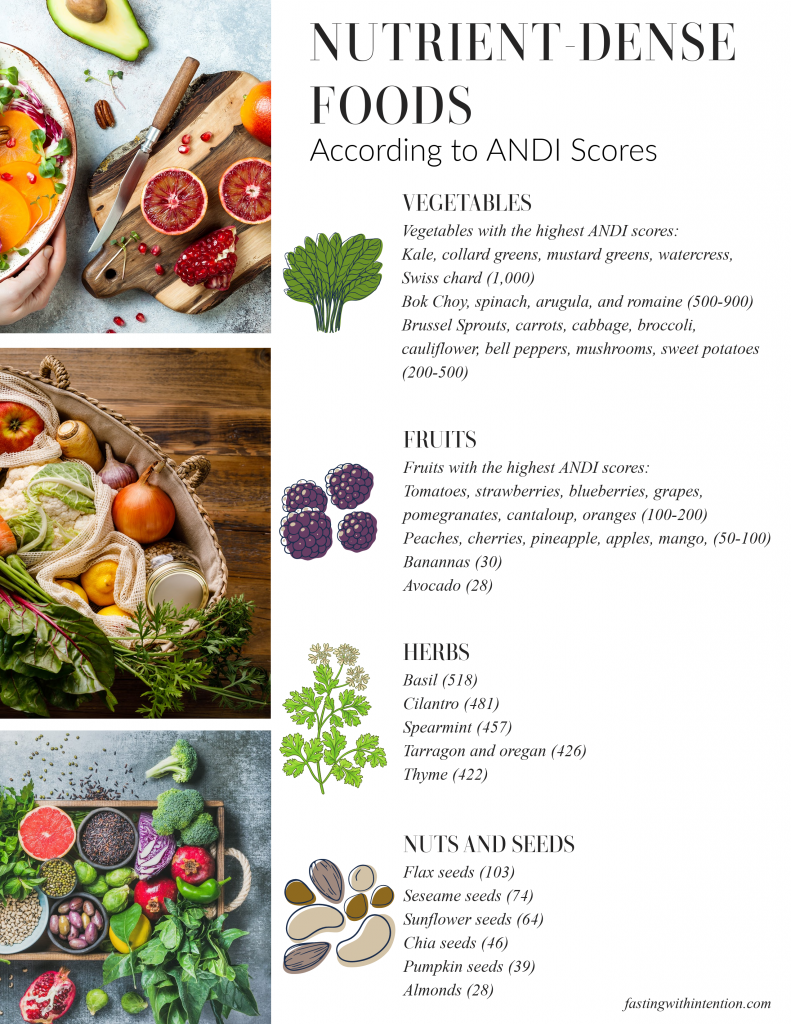 nutrient-dense foods